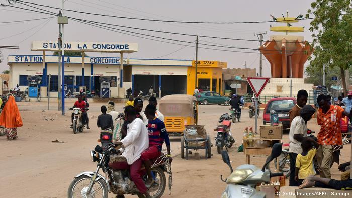 Niger Flüchtlingsdrehkreuz Agadez (Getty Images/AFP/I. Sanogo)