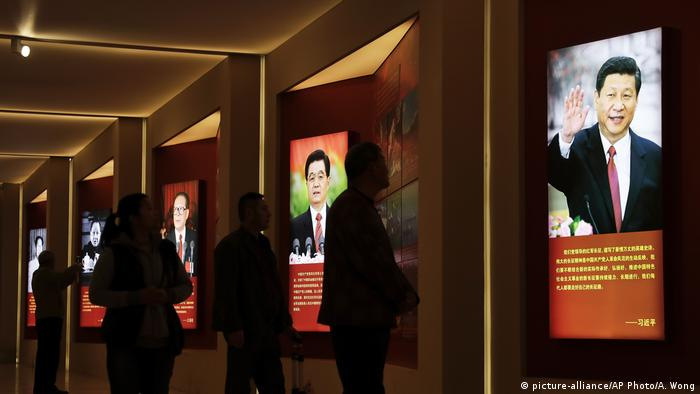 China kommunistische Führer (picture-alliance/AP Photo/A. Wong)