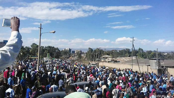 Äthiopien Kaliti Gefängnis (Befekadu Hailu)