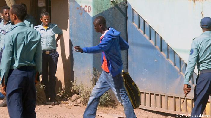 Äthiopien Kaliti Gefängnis (DW/Y. Gebregziabher)