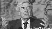 Niederlande Ruud Lubbers gestorben