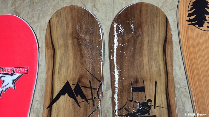Esquí de madera