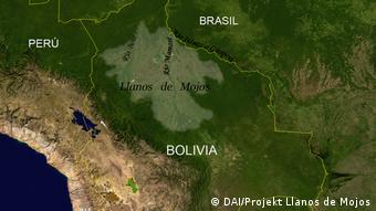 Bolivien Projekt Llanos de Mojos Amazonia  
