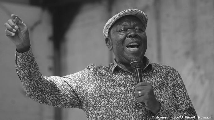 Zimbabwe Oppositionsführer Morgan Tsvangirai