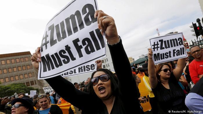 Südafrika | Präsident Zuma tritt zurück ARCHIV