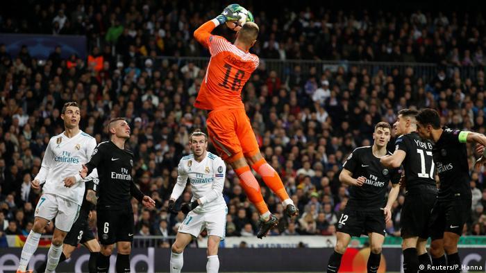 Championsleague Real adrid vs Paris St Germain (Reuters/P.Hanna)