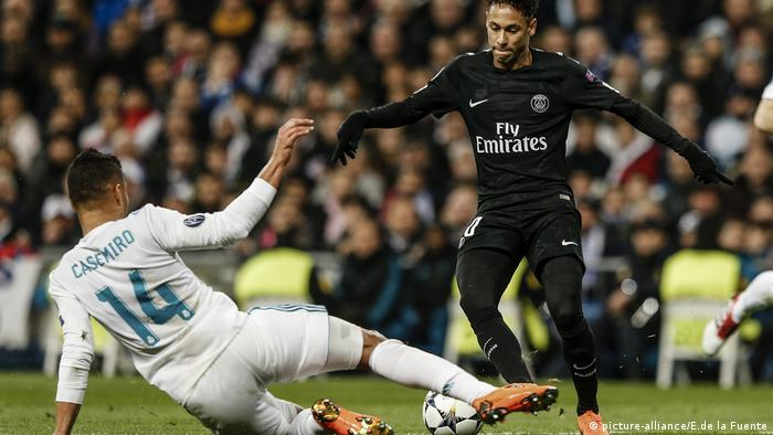 Championsleague Real Madrid vs Paris St Germain (picture-alliance/E.de la Fuente)