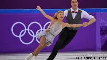 Pyeongchang, Eiskunstlaufpaar Aljona Savchenko und Bruno Massot