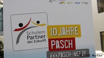Logo de la red PASCH- Escuelas: socios del futuro.