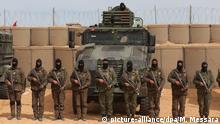 Tunesien Grenzanlage zu Libyen