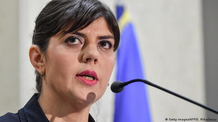 Rumänien Bukarest - Laura Codruta Kovesi der Antikorruptionsbehörde
