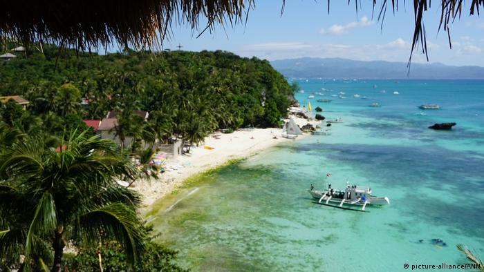 Philippinen Boracay (picture-alliance/ANN)