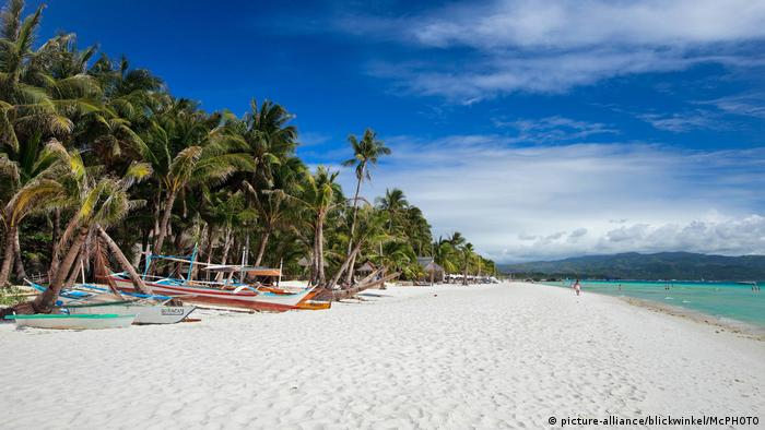 Philippine's Boracay island (picture-alliance/blickwinkel/McPHOTO)