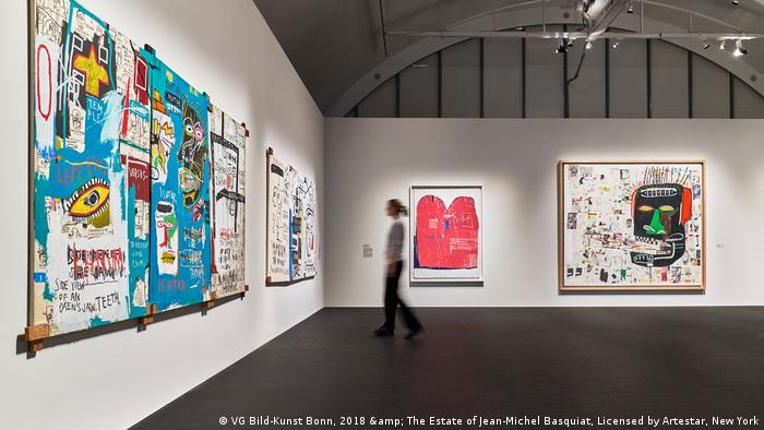 Basquiat Boom For Real exhibition
