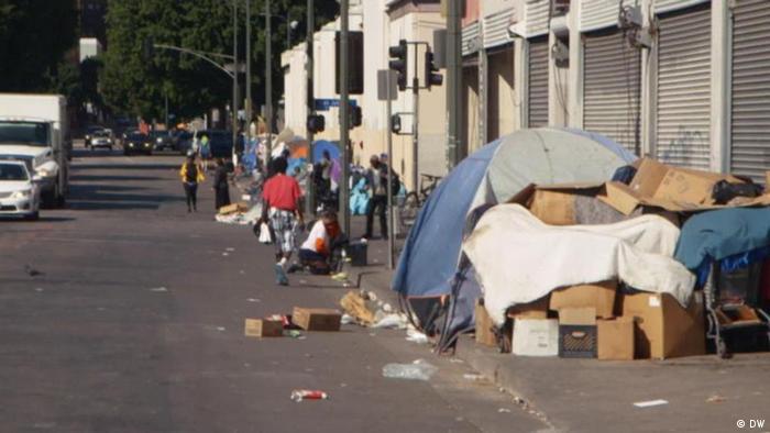 Global 3000 Obdachlos in den USA