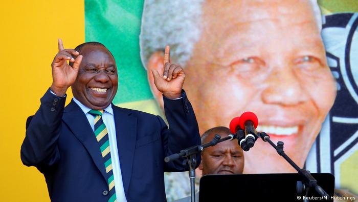 South African President Cyril Ramaphosa (Reuters/M. Hutchings)