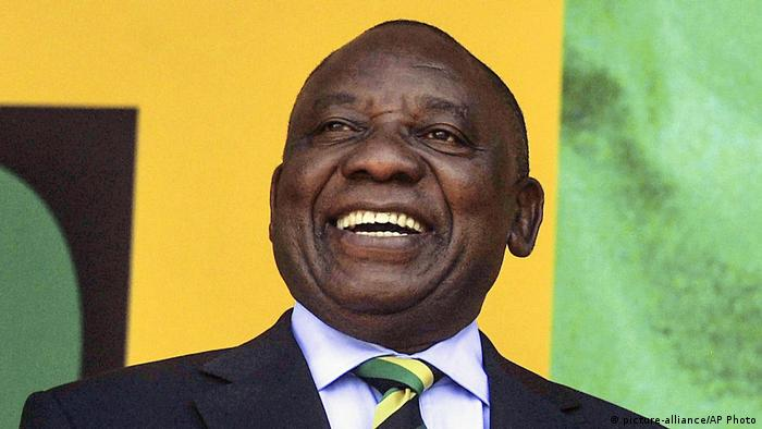 Südafrika - neuer Präsident Cyril Ramaphosa (picture-alliance/AP Photo)
