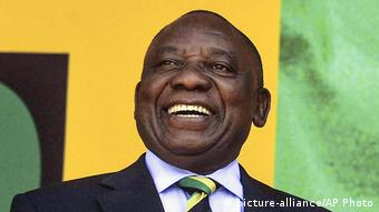 Südafrika - neuer Präsident Cyril Ramaphosa