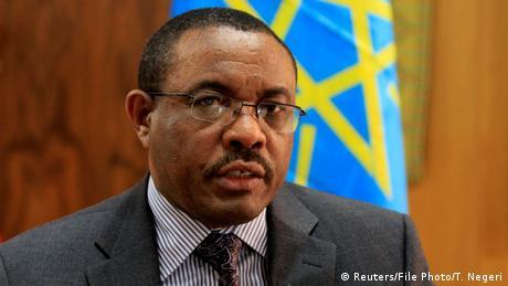 Äthiopischer Premierminister Hailemariam Desalegn beim Interview mit Reuters in Addis Ababa (Reuters/T. Negeri)