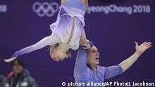 Südkorea Pyeongchang - Aljona Savchenko und Bruno Massot gewinnen Gold für Deutschland