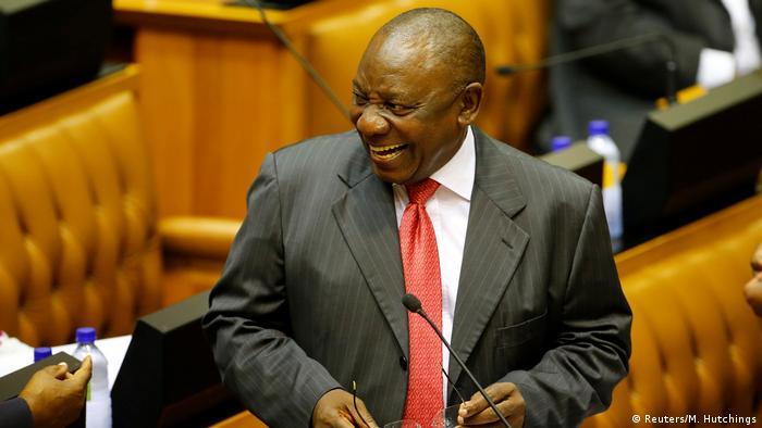 Südafrika - neuer Präsident Cyril Ramaphosa - Vereidigung