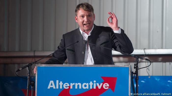 Politischer Aschermittwoch in Sachsen - Afd Poggenburg