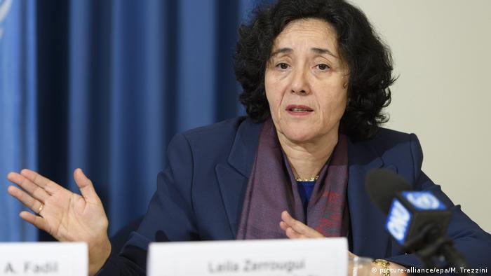 Leila Zerrougui (picture-alliance/epa/M. Trezzini)