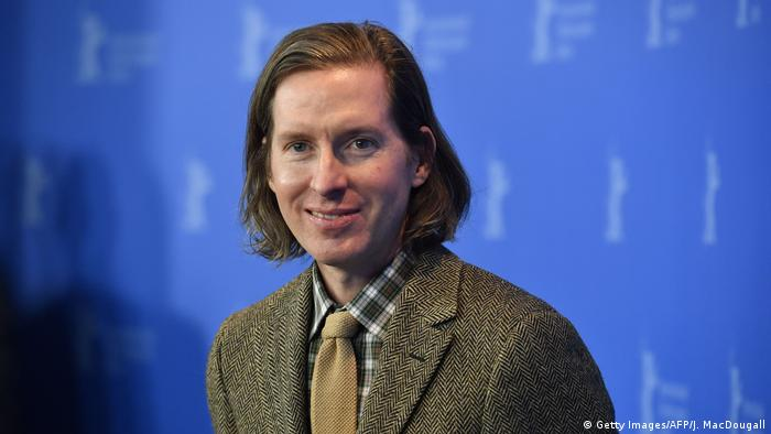Photo of film director Wes Anderson