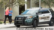 USA - Polizeiauto - Florida High School Shooting
