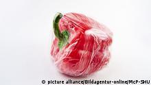 Verpackte Lebensmittel - Paprika