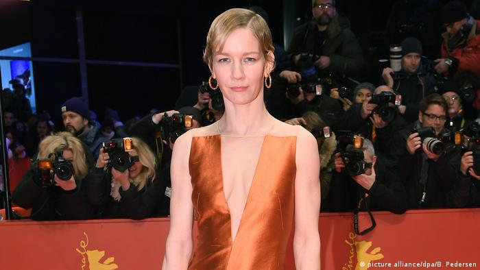 German actress Sandra Hüller at the 68th Berlinale (picture alliance/dpa/B. Pedersen)