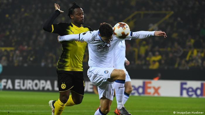 Fußball Europa League Borussia Dortmund vs Atalanta Bergamo (Imago/Jan Huebner)