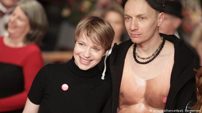 Anna and Dietrich Brüggemann at the 68th Berlinale (picture alliance/dpa/J. Carstensen)