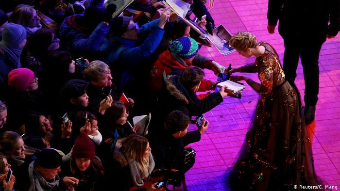 Greta Gerwig at the 68th Berlinale (Reuters/C. Mang)