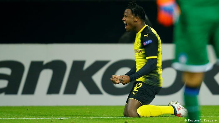 Fußball Europa League Borussia Dortmund vs Atalanta Bergamo Ausgleich 2:2 (Reuters/L. Kuegeler)