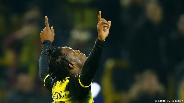 Fußball Europa League Borussia Dortmund vs Atalanta Bergamo Tor 3:2 (Reuters/L. Kuegeler)