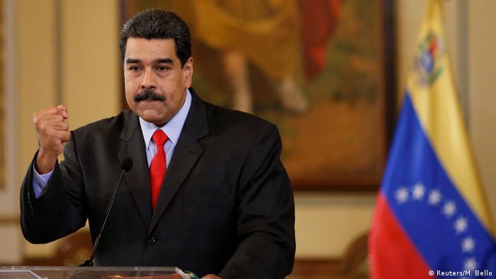 Venezuela Präsident Nicolas Maduro (Reuters/M. Bello)