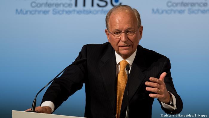 Wolfgang Ischinger, director de la Conferencia sobre Seguridad de Múnich.