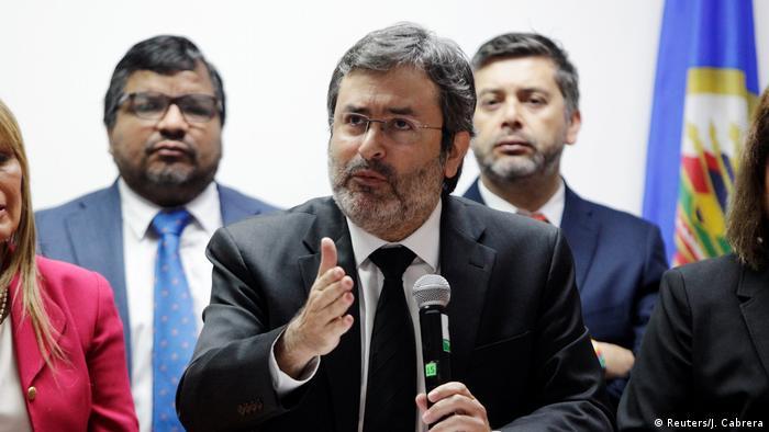 Juan Jiménez, vocero de la MACCIH (archivo)