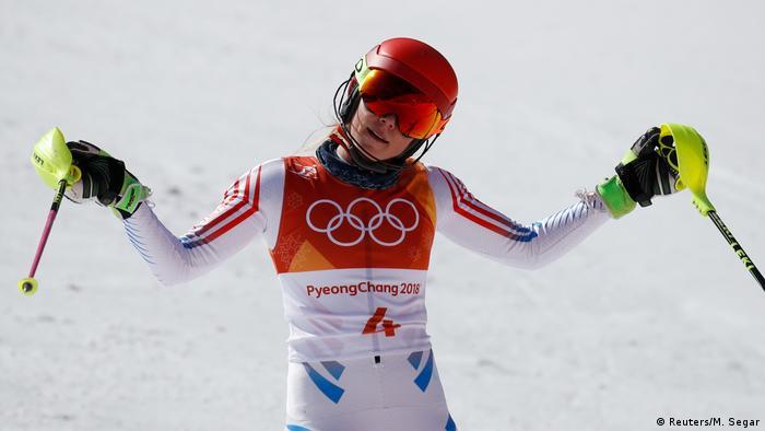 Pyeongchang 2018 Olympische Winterspiele Ski Alpin Slalom Mikaela Shiffrin (Reuters/M. Segar)