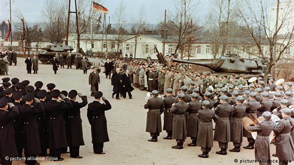 Flash-Galerie Deutschland 60 Jahre Kapitel 1 1949 – 1959 Wiederbewaffnung