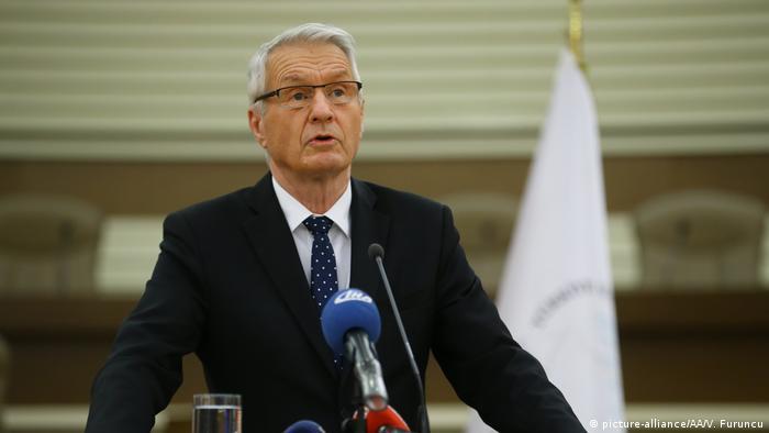 DerGeneralsekretär des Europarats, Thorbjörn Jagland (Foto: picture-alliance/AA/V. Furuncu)