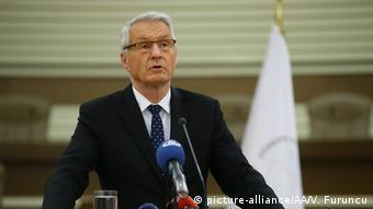 Thorbjorn Jagland la Ankara (picture-alliance/AA/V. Furuncu)