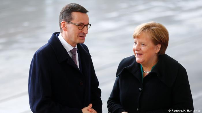 Podczas wizyty w Warszawie (19.03.2018) kanclerz Merkel spotka się m.in. z premierem Morawieckim