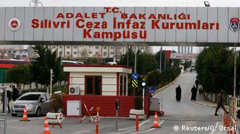 Türkei Istanbul Silivri Gefängnis von Deniz Yücel (Reuters/O. Orsal)