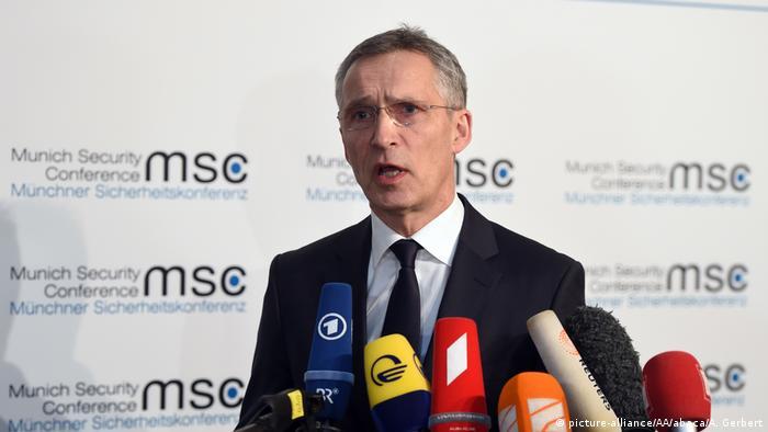 Генеральний секретар НАТО Єнс Столтенберг у Мюнхені