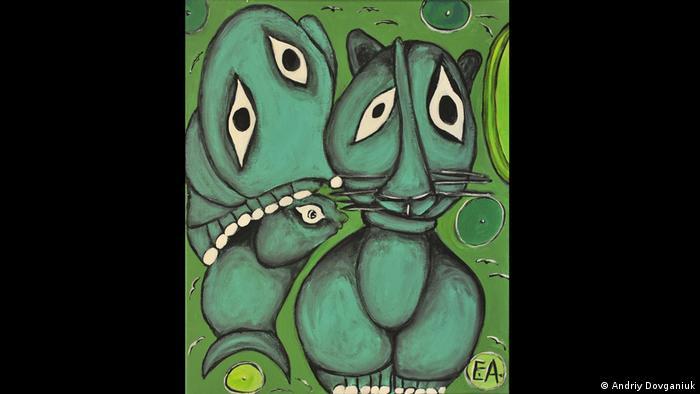Емма Андієвська. Кіт з рибою