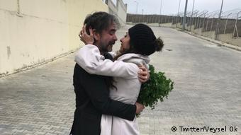 Türkei Istanbul Freilassung Deniz Yücel (Twitter/Veysel Ok)