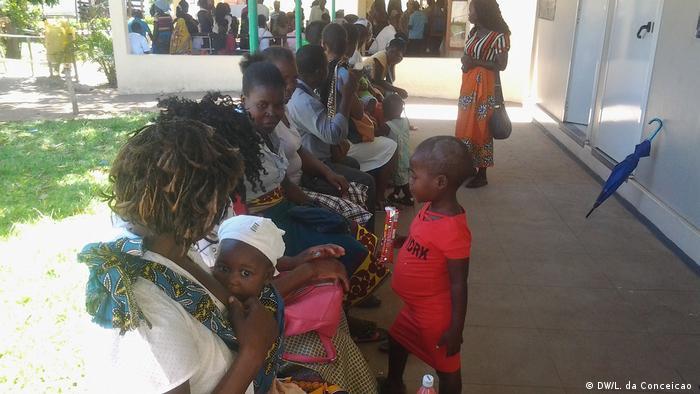 Mosambik Inhambane Gesundheitszentrum