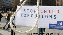 Deutschland Proteste gegen Hinrichtung von Iranerin